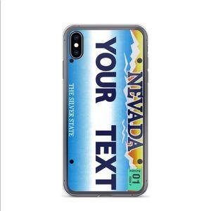 Other - Nevada Custom License Plate Phone Case Design 📱🏔